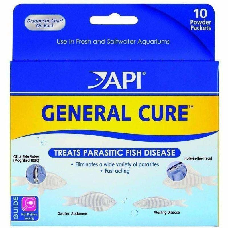 API General Cure is a great medication for internal and external parasites in discus fish